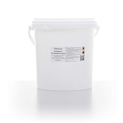 EluOecolo - Pecabonate de Soude 6kg - Oxygène actif <12% - Détachant & blanchissant - Made in Nice