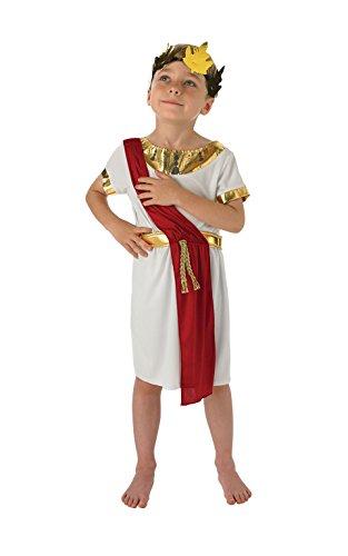 Boy Römische Kostüm - Rubie 's Offizielles römischen Boy Kostüm Jungen groß 7-8Jahre
