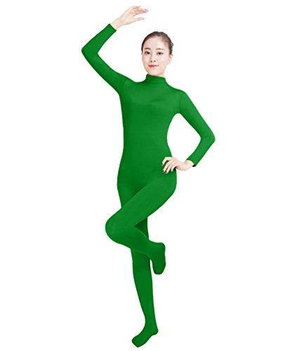 NiSeng Erwachsener und Kind Ganzkörperanzug Anzug Kostüm Ganzkörperanzug Halloween Kostüme Grün (Unitard Kostüm Grün)