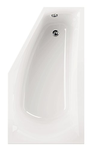 AquaSu 80177 5 Acryl corDia, Weiß, Wanne, Badewanne, Bad, Badezimmer, Linke Ausführung | 160 x 90 cm