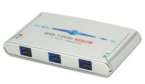 Preisvergleich Produktbild LINDY FireWire Hub - 3 Port IEEE1394b FireWire Repeater