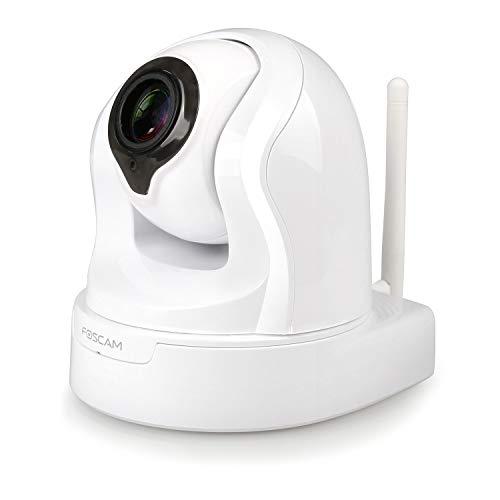 Foscam FI9926P IP-Kamera für den Innenbereich, motorisiert, 2 MP, Fernüberwachung und Fernsteuerung, Smartphone-App, 4-Fach-Zoom, Bewegungserkennung Motorisierte Zoom-kameras