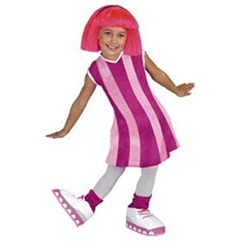 Disguise Stephanie Deluxe Lazy Town Cartoon Network Costume, Medium/3T-4T, One Color by Disguise