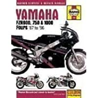 Yamaha FZR600, 750 and 1000 Fours (87-96) Service and Repair Manual (Haynes Service and Repair Manuals)