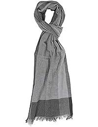833f1706345 Gotby - Echarpe - Homme Gris gris Taille Unique