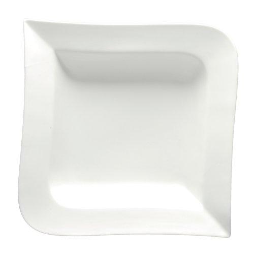 Fortessa Fortaluxe SuperWhite Ojo Schalen aus verglastem Porzellan 8-1/2