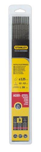 Stanley 460732 - Electrodos para soldadura (9 unidades, 3,25 mm de diámetro)