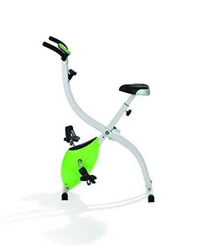 VITALmaxx Heimtrainer Fitness Bike ( Zusammenklappbar, Flexibel und Platzsparend )