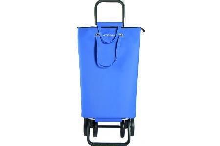 Rolser m235892–Einkaufstrolley Faltbar Einkaufsroller DOS + 2SUPERBAG blau