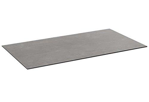 SonnenPartner Tischplatte Compact beton-hell HPL 200 x 100 made by Müsing Abmessungen: 200 x 100 cm Höhe Tischplatte: 13 mm Material Tischplatte: HPL Farbe: beton-hell Plattengewicht: 36 Kg Tischgestell: Ohne/ Nur Platte