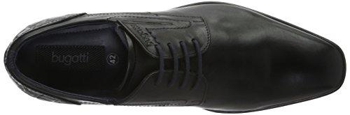 Bugatti 311188011000, Derby Homme Noir (Schwarz 1000)