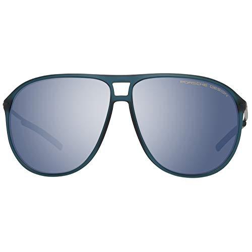 Porsche Design Herren P8635 D 61 11 140 Sonnenbrille, Blau