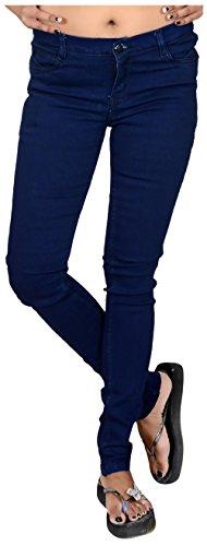 Asmara-Womens-Slim-Fit-Jeans-Navy-Blue-32