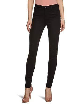 Vero Moda Wonder Denim - Jeans - Slim - Femme - Noir (Black) - W25/L34 (Taille fabricant: W25/L34)