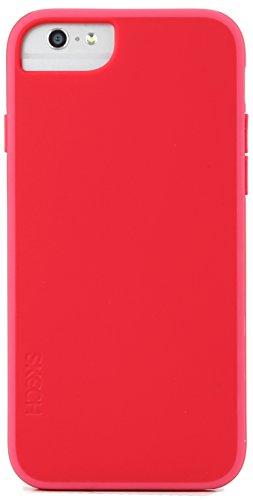 Skech SK25-HR-CHP Hard Rubber 2-teilige, matte Schutzhülle mit Innenpolsterung für das Apple iPhone 6 - gold rot