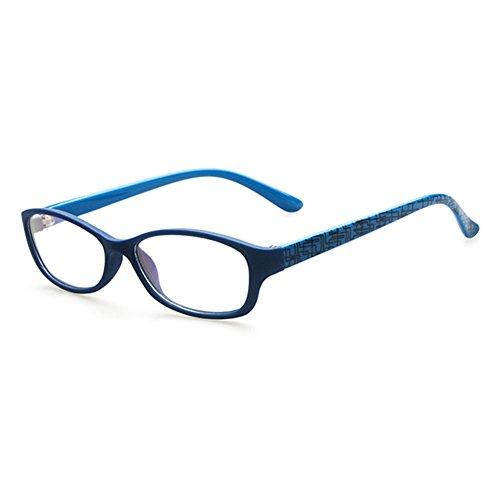 Juleya Kinder Gläser Rahmen - Kinder Brillen Clear Lens Geek/Nerd Retro Reading Eyewear für Mädchen Jungen (Jungen Uk Kostüme)