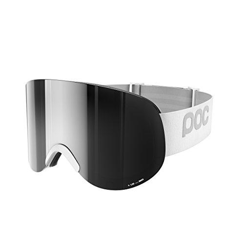POC Lid Skibrille, Hydrogen White, One Size