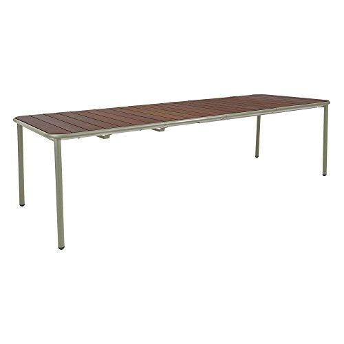 emu Yard Eschenholz Gartentisch ausziehbar, grau grün esche Tischplatte Esche LxBxH...