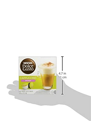 Nescafé Dolce Gusto Cafe Au Lait, Pack of 3 (Total 48 Capsules, 48 servings) by Nestle