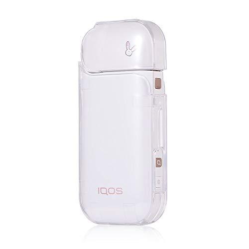 jbTec Tasche Case Hülle #AE8 passend für IQOS 2.4/2.4 Plus - Schutzhülle E-Zigarette Etui, Farbe:Transparent