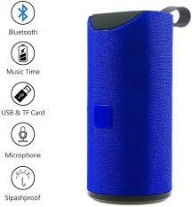 Cabriza RG-113 Super Bass Splash Proof Wireless Bluetooth Speaker Best Sound Quality Playing with All Device (Random Colour)