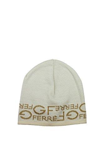 Cappelli Gianfranco Ferré Donna Lana Avorio e Oro 705F5GZ181930V001 Bianco Unica