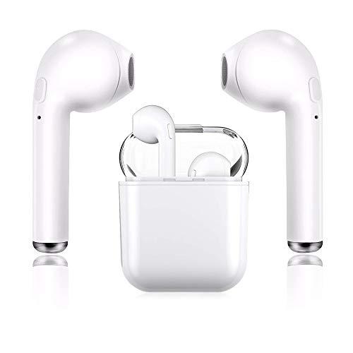Bluetooth-Kopfhörer, kabellose Kopfhörer Sportkopfhörer In-Ear-Kopfhörer HiFi-Headset, Stereo-Kopfhörer mit Rauschunterdrückung, Kompatibel mit Android/iPhone