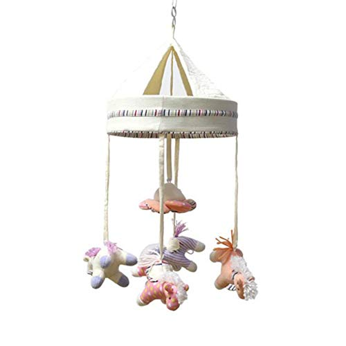 Coupon Matrix - Excellent Sales Crib Mobile Bell Musical Plush Activity Crib Stroller Soft CM© toys Bed Hanging Help Your Kid Develop Hands-On Thinking Skills Can Transfer Songs CM© USB,35Songmusicbox(Battery)