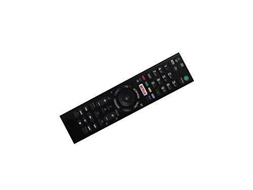 Calvas Fernbedienung für Sony FWL-48W705C KDL-75W855C FWL-75W855C KDL-65W859C KDL-65W858C KDL-65W857C FWL-40W705C LED HDTV TV