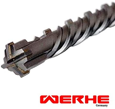 350 mm /Ø 18 mm SDS Plus X-ERGO Betonbohrer Steinbohrer Betonbohrer Hammerbohrer frase Bohrhammer piedra Bohrbohrer 35 cm hormig/ón