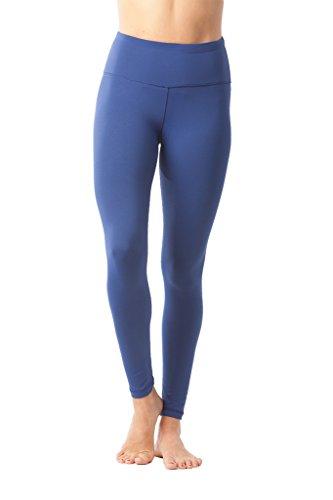 cc996ff159 90 Degree By Reflex High Waist Power Flex Legging – Tummy Control - Winter  Blue -