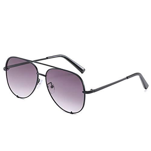FIRM-CASE Neue Art und Weise Sonnenbrille Frauen übergroße Brille Pilot Sun für Frauen Luxury Shades New Lunettes Femme, 7