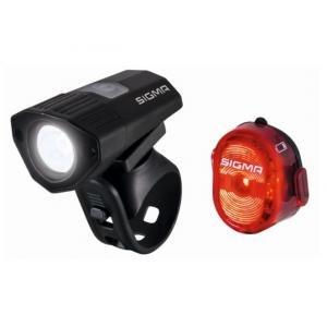 Sigma Sport 100 HL/Nugget II Set Leuchten, Schwarz, Einheitsgröße