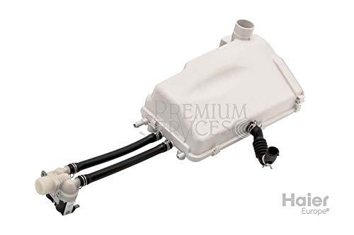 Original Haier-Ersatzteil: Behälter Reiniger für Waschmaschine Herstellernummer SPHA00605501 | Kompatibel mit den folgenden Modellen: HW80-1401-F1 | Soap dispenser box assembly -