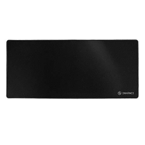 ENHANCE GX-MP2 Extended Gaming Mauspad - Großes XL Mauspad (80 x 35 cm) für professionellen eSport mit Low-Friction Tracking Oberfläche - Blackout (Windows Für Blackout-schatten)
