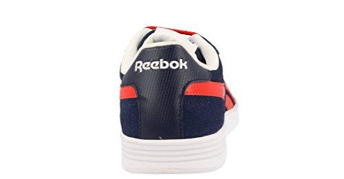 Reebok Herren Royal Slam Sde Turnschuhe Azul (Collegiate Navy / Riot Red / White)