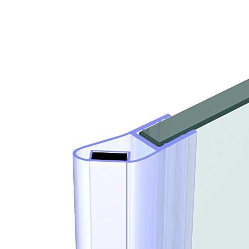 Duschdichtung für 8 mm Glas - 200 cm - Magnet Dichtung Wasserabweiser Ersatzdichtung Duschprofil Duschtürdichtung Lippe. In unserem Shop finden Sie alle gängigen Formen für 6-10mm Glas