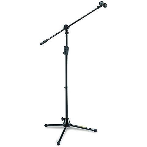 Hercules MS532B - Asta per microfono 2-in-1 Boom