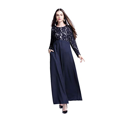 89e5ab8063d81e Women Islamic Clothing Maxi Long Sleeve Dress Moroccan Kaftan Caftan  Embroidery Dress Abaya Muslim Robes Gown