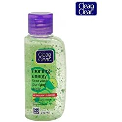 Clean & Clear Morning Energy Apple Face Wash, 50ml