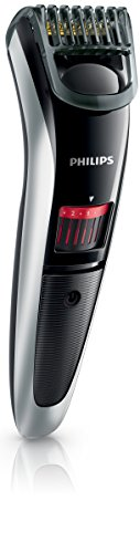 Philips QT4013 - Cortadora de vello facial, color crema