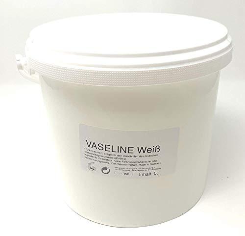 5Liter Medizinische VASELINE TATTOO - INKgrafiX® Deutschland - PROFI - STUDIO IG06370 PHARMA-Qualität, Made in Germany