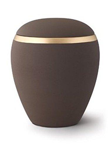 Kaffee Farbe Keramik Verbrennung Asche Urne–(Croma Edition)–Erwachsene Größe
