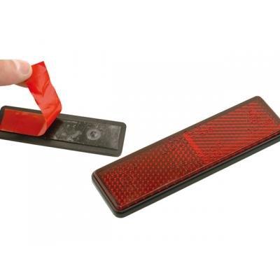 V parts - Reflex reflector catadioptrico rectangular con adhesivo - 11418