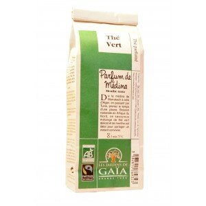 PARFUM DE MEDINA, Thé vert, Sachet 100g