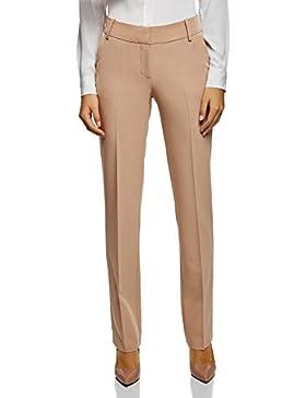 oodji Collection Mujer Pantalone