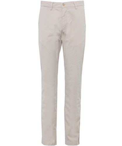 Gant Uomo Pantaloni Slim Fit estate UK 32R Mastice