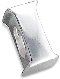 So Chic Joyas - Abalorio Charm letra inicial I - Compatible con Pandora, Trollbeads, Chamilia, Biagi - Plata 925