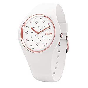 Ice-Watch – ICE cosmos Star White – Women's wristwatch with silicon strap – 016297 (Medium)