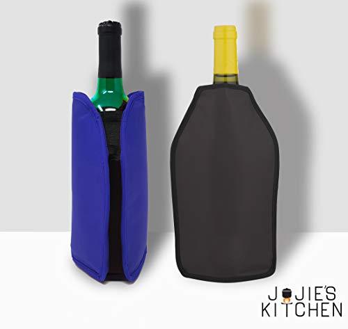 Juego 2 Fundas Enfriadoras Vino - Rojo azul - Perfecto
